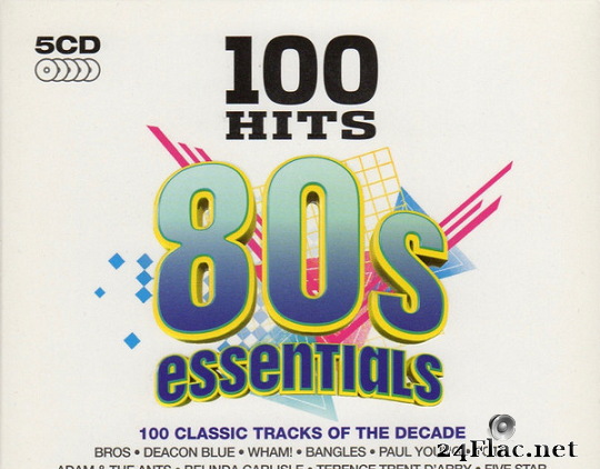VA - 100 Hits 80s Essentials (2013) [FLAC (tracks + .cue)]