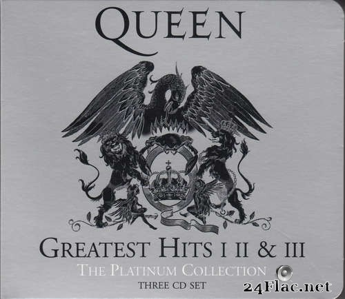 Queen ‎- Greatest Hits I, II & III (The Platinum Collection) (2011) FLAC