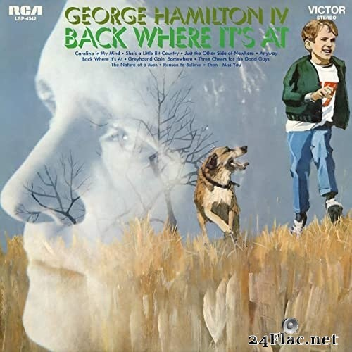 George Hamilton IV - Back Where It's At (1970/2020) Hi-Res