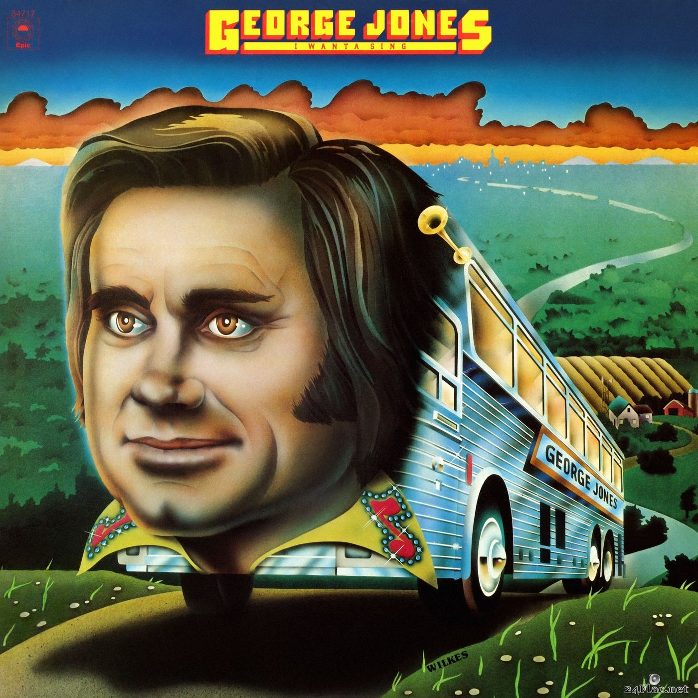 George Jones - I Wanta Sing (2019) Hi-Res