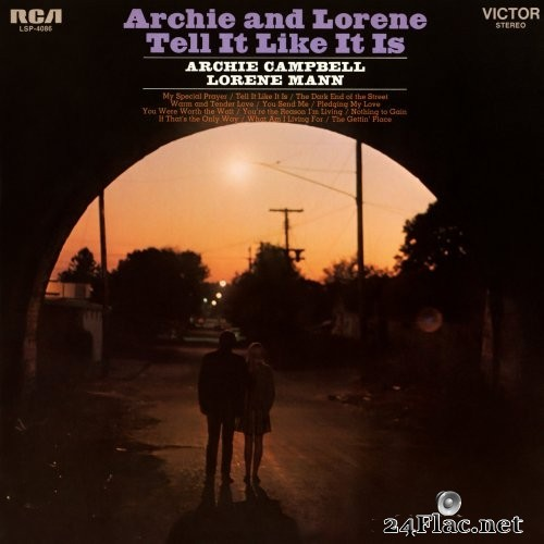 Archie Campbell, Lorene Mann - Archie and Lorene Tell it Like It Is (1968) Hi-Res
