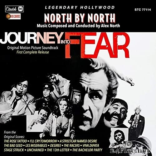 Alex North - North By North / Journey Into Fear (Original Motion Picture Soundtracks) (1998/2021) Hi-Res