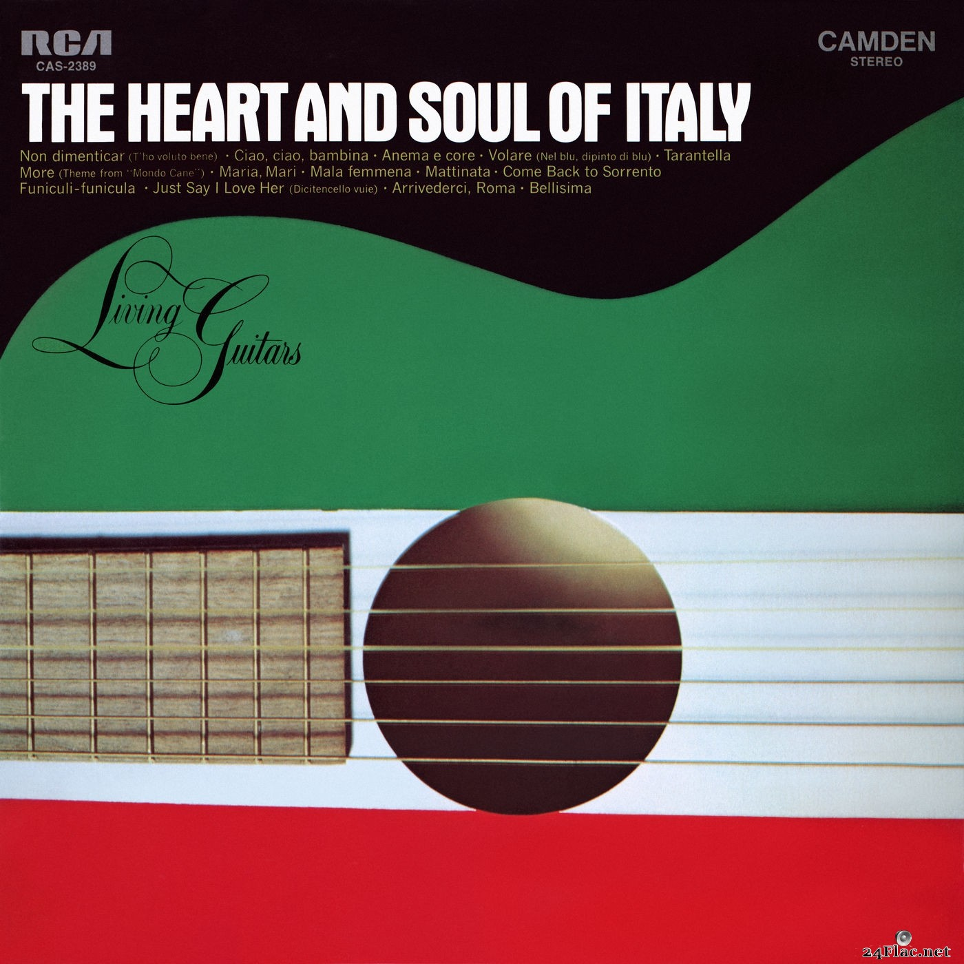 Living Guitars - The Heart And Soul Of Italy (2021) Hi-Res