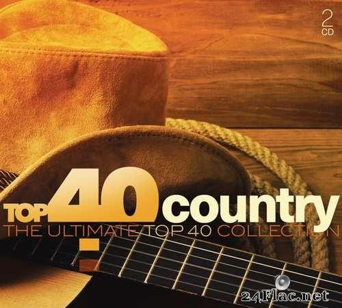 VA - Top 40 Country (The Ultimate Top 40 Collection) (2016) [FLAC (tracks + .cue)]