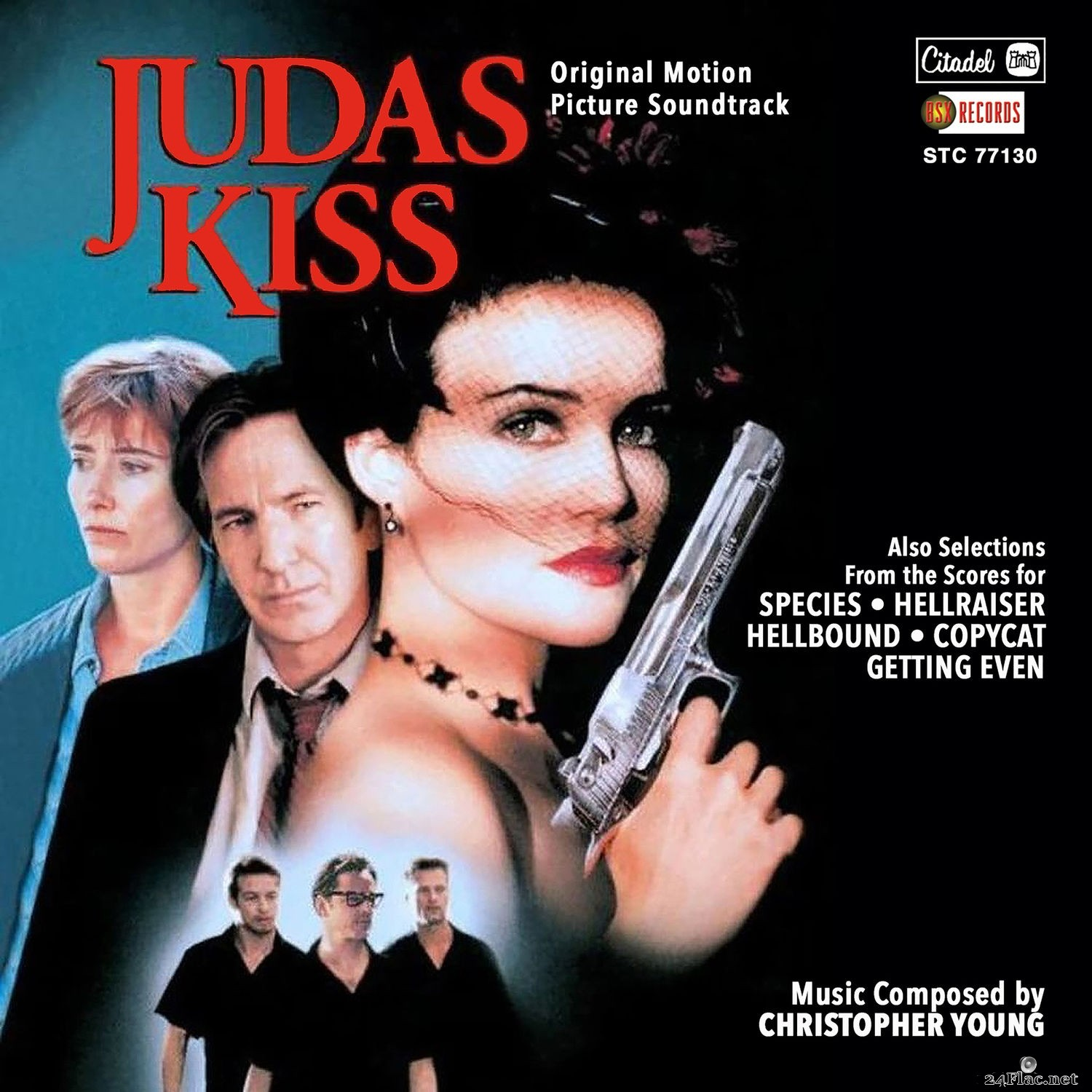 Christopher Young - Judas Kiss (Original Motion Picture Soundtrack) (2021) Hi-Res