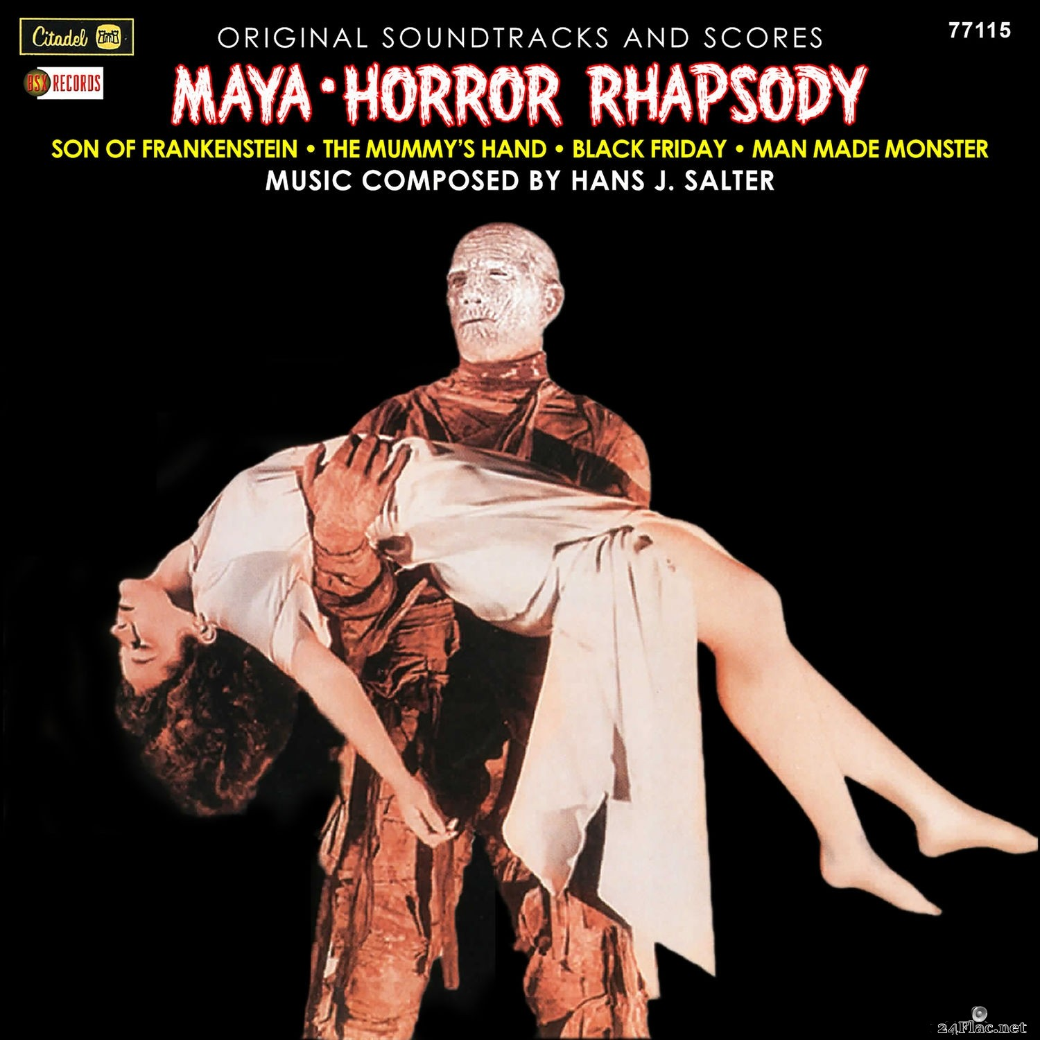 Hans J. Salter - Maya / Horror Rhapsody (Original Soundtracks And Scores) (2021) Hi-Res