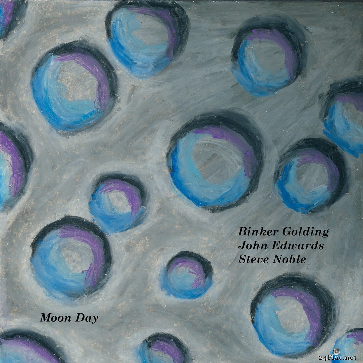 Binker Golding, Steve Noble & John Edwards - Moon Day  (2021) FLAC