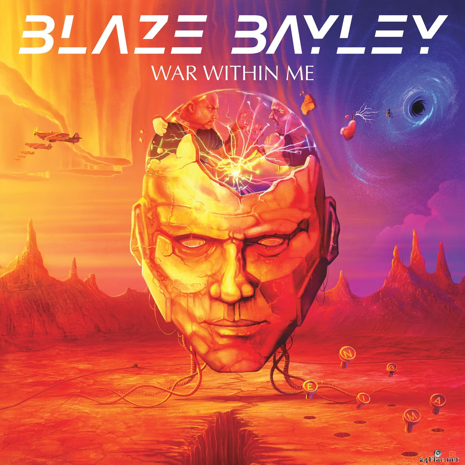 Blaze Bayley - War Within Me (2021) Hi-Res