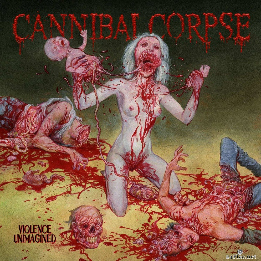 Cannibal Corpse - Violence Unimagined (2021) FLAC