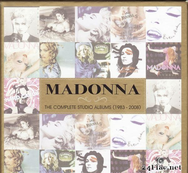 Madonna - The Complete Studio Albums (1983 - 2008/2012) [FLAC (tracks + .cue)]