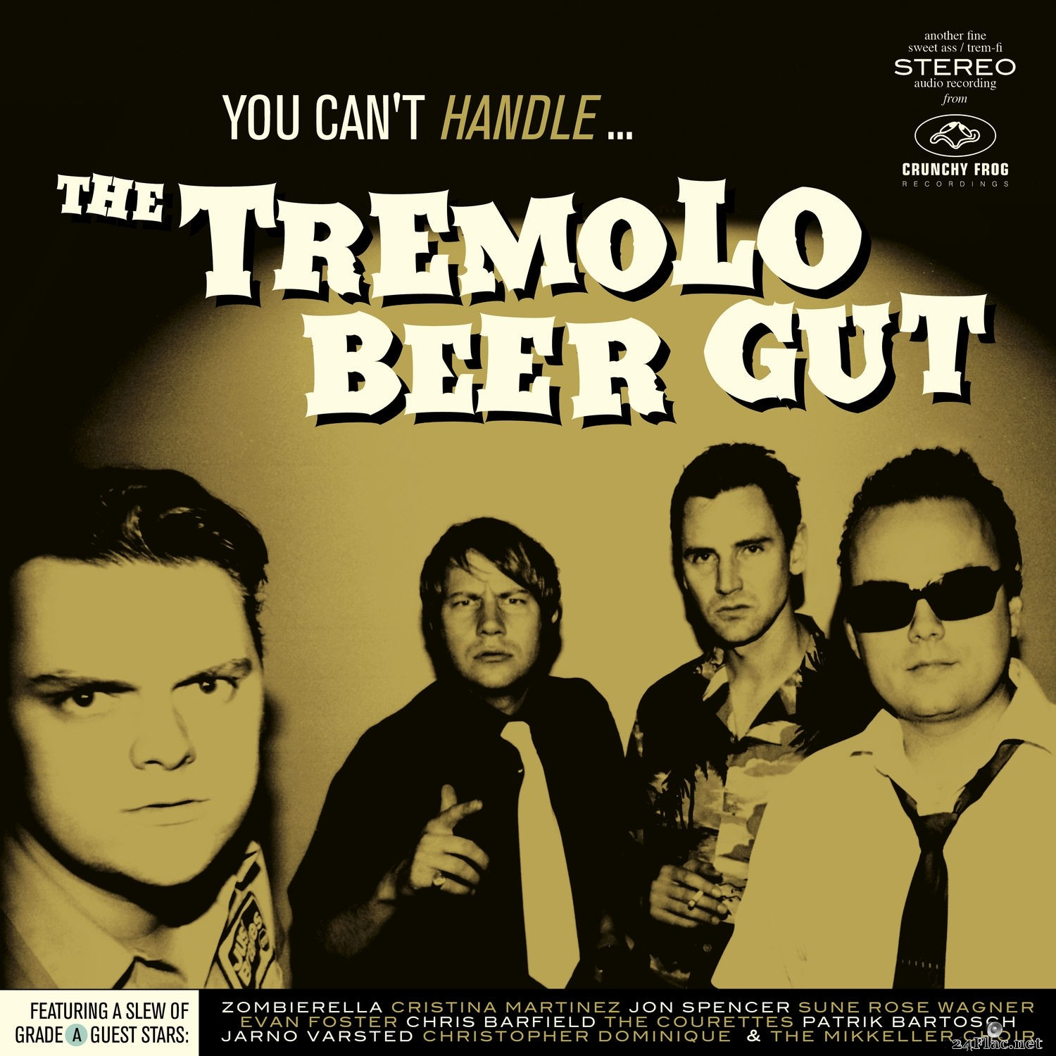 The Tremolo Beer Gut - You Can't Handle… (2021) Hi-Res