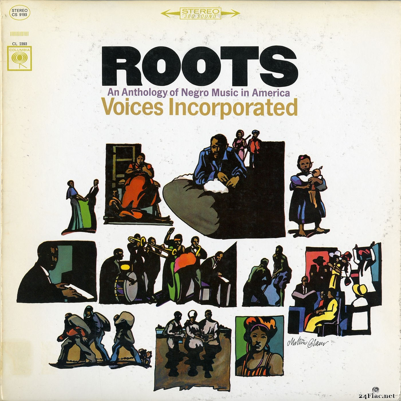 Voices Incorporated - Roots: An Anthology of Negro Music in America (2015) FLAC