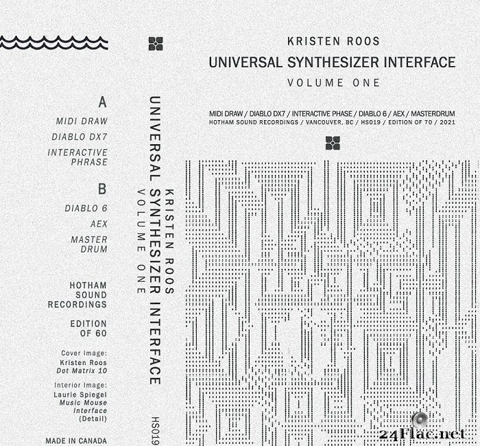 Kristen Roos - Universal Synthesizer Interface Vol I (2021) [FLAC (tracks)]