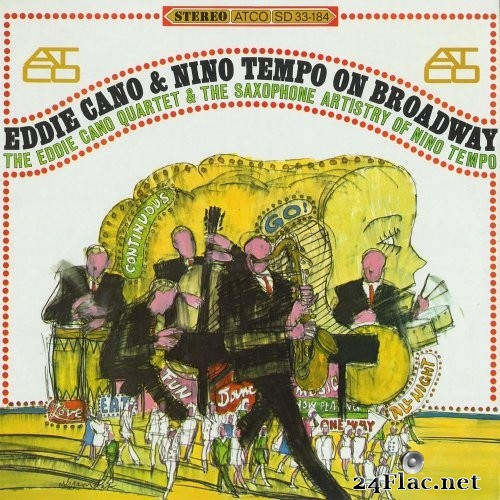 Eddie Cano, Nino Tempo - On Broadway (1966/2010) Hi-Res