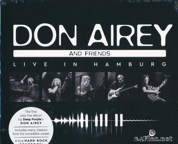 Don Airey and Friends - Live in Hamburg (2021) [FLAC (tracks + .cue)]