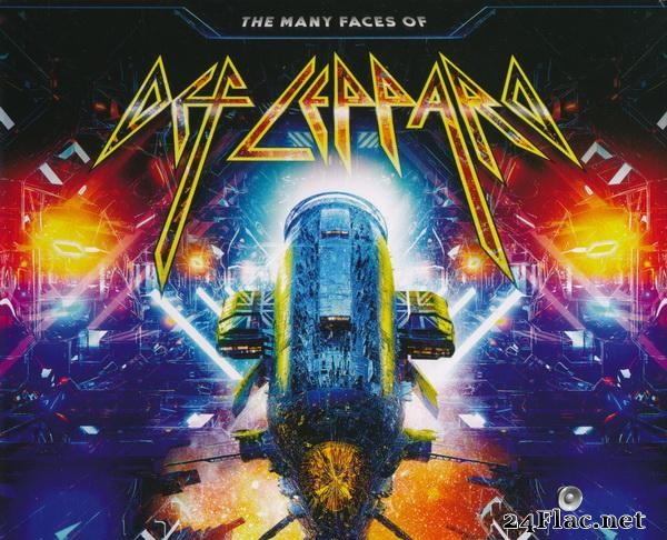 VA - The Many Faces Of Def Leppard (2020) [FLAC (tracks + .cue)]