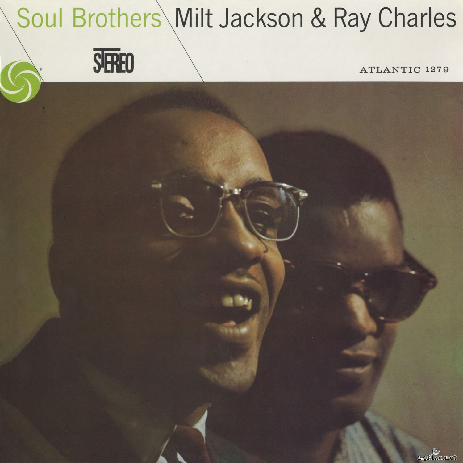 Milt Jackson & Ray Charles - Soul Brothers (2012) Hi-Res